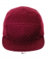 Taylor Cap Oxblood/White