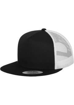 6006TClassic Trucker 2-Tone Black/White