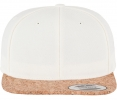 6089CO Kork Snapback White