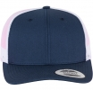 6606T  Retro Trucker 2-Tone Navy/White