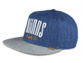 Djinns CAP DENIM 3.0 INDIGO/GREY