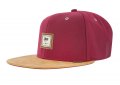 Djinns Snapback Cap 10oz Canvas Wine